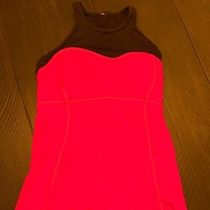 Hot Pink High Neck Tank